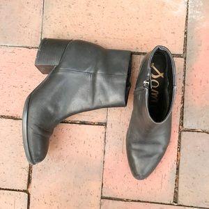 Sam Edelman Joe Bootie in Black Leather